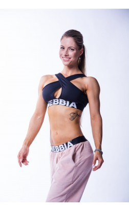 NEBBIA 622 CROSSED SPORTS BRA